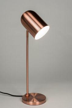 Stolní industriální lampa Laurence Cooper