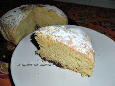 torta con panna nell'impasto - in cucina con monica