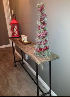 New barnboard hall table - Dec. Dec 2016, Entryway Tables, Projects, Furniture, Home Decor, Log Projects, Homemade Home Decor, Home Furnishings, Decoration Home