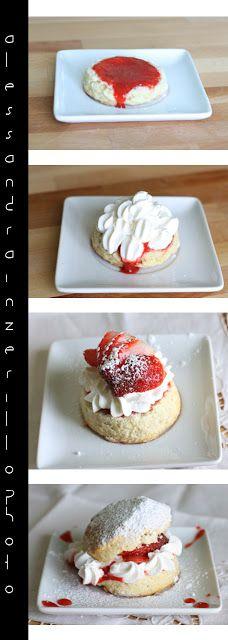 Stawberry shortcake...per un insolita voglia di fragole.