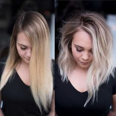 Are you going to balayage hair for the first time and know nothing about this technique? We've gathered everything you need to know about balayage, check! Ombre Hair, Medium Hair Styles, Curly Hair Styles, Short Styles, Short Blonde, Trending Hairstyles, Hairstyles For Fine Hair, Blonde Balayage, Short Hair Cuts