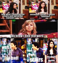 iCarly  STAIRS! STAIRS! STAIRS! @Mary Reber