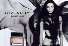 Givenchy #Ad Campaign Dahlia Noir