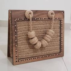 Etsy – Buy handmade, vintage, personalized and unique gifts for everyone – Bag Ideas Handmade Handbags, Leather Bags Handmade, Handmade Bags, Diy Bags Purses, Diy Purse, Mint Bag, Crochet Christmas Gifts, Wooden Bag, Bag Pattern Free