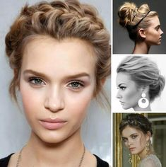 Health Hair Care Advice To Help You With Your Hair. Do you feel like you have had way too many days where your hair goes bad? Try On Hairstyles, Elegant Hairstyles, Headband Hairstyles, Vintage Hairstyles, Updos Hairstyle, Bad Hair, Hair Day, Updo Casual, Medium Hair Styles
