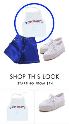 """""""CRY"""" by glowzs ❤ liked on Polyvore featuring Superga, women's clothing, women's fashion, women, female, woman, misses and juniors"""