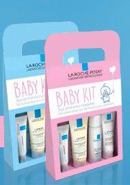 Por sólo 11.15€! BaBy Kit La Roche-Posay, un completo kit para el cuidado de las pieles sensibles y delicadas de tu bebé. Productos testados en pieles sensibles y/o atópicas. Este kit contine: Lipikar Aceite Lavante: Baño del bebé, sin jabón sin alcohol y sin parabenes