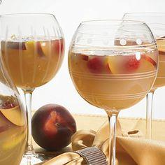 White Tea Island Mango & Peach Sangria