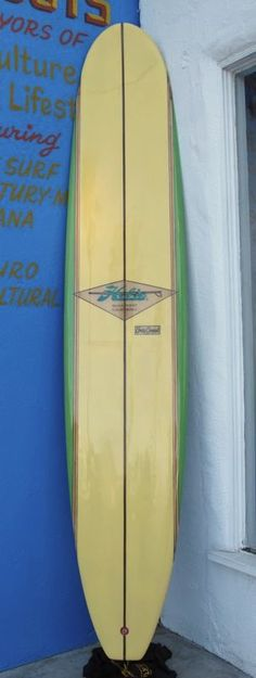 Hobie Corky Carroll Longboard Surfboard, Fully Restored, Available at Surfing Cowboys, Venice, CA