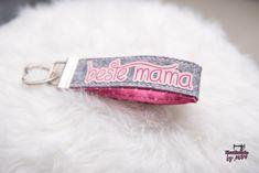 Schlüsselbänder - * Schlüsselband * Taschenbaumler * Beste Mama *  - ein Designerstück von Martina-Widera bei DaWanda