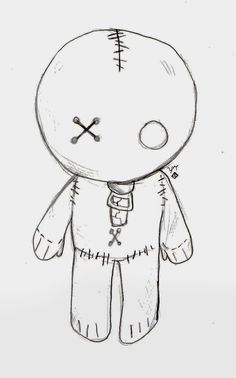 Emo Doll by Love-of-the-Pencil.deviantart.com on @deviantART