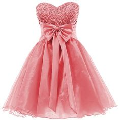 Amazon.com: Dresstells Sweetheart Organza Short Prom Cocktail Patry Dress for Girls Sweet 16: Clothing