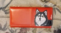 Finnish Lapphund Dog Painted Womens Faux by daniellesoriginals, $30.00