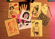 del cuaderno a la calle abril, dia 06 Ivana Boullón http://amigapoison.tumblr.com/