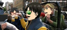my gifs funny gif mustache no regrets levi sorry not sorry snk shingeki no kyojin AOT eren jaeger rivaille eren hanji zoe irvin smith snk gif Scouting Legion erwin smith Sorry I had to do it levi heichou like always:I had to do it attack  on titan levi ackerman the survey corps Kirayamapi Erwin is the one who have more fun (?)