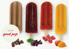 I wish there was a gourmet popsicle shop in Minneapolis...