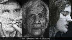 40  Mind Blowing Examples of HyperRealistic Drawings