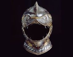 """41 Strange on Twitter: """"Armored Combat Toothface Helmets from the 14th Century (left) and 17th Century (right)… """""""