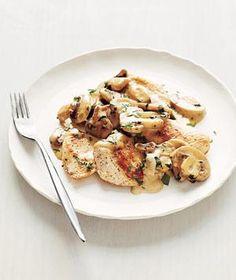 Chicken With Creamy Mushrooms recipe