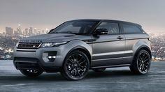 Matte Grey Range Rover Evoque