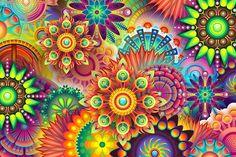 Fondo Abstracto Colorido, Colorido