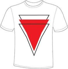 Geometric t shirt