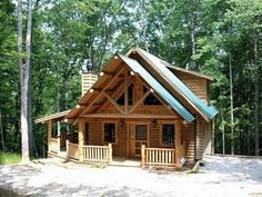 Just a small log cabin in the woods, near a stream, waterfall, lake or river.... maybe one day!