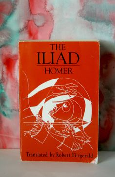 Vintage Paperback The Iliad 1974 by StrawberryMoonBooks on Etsy, $6.95