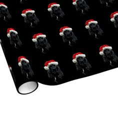 Cocker Spaniel Christmas Gift Wrap