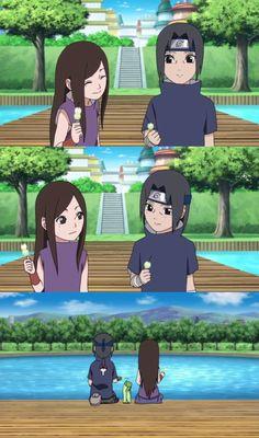 Itachi and Izumi Uchiha - screencaps by me.