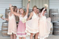 cute and different bridesmaid dresses