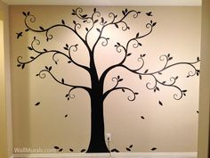 Tree Wall Murals - 50 Hand-painted Tree Wall Mural Examples
