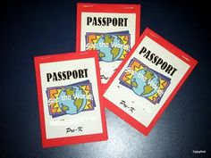Great idea to make student passports! Students would receive a stamp as they learned about each Country.