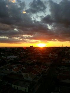 Por do Sol. Andradina-SP-Brasil