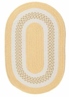"Colonial Mills Flowers Bay Fb31 3'0"" x 3'0"" Yellow / White / Linen Round Area Rug by Colonial Mills. $69.70. Flowers Bay FB31 yellow / white / linen rug by Colonial Mills Inc Rugs is a braided rug made from synthetic. It is a 3 x 3 area rug round in shape. The manufacturer describes the rug as a yellow / white / linen 3'0"" x 3'0"" area rug. Buy discount rugs with Buy Area Rugs .com SKU fb31r036x036