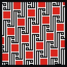 Square Kufic Tessellations by Shakil Akram Khan