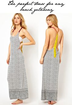 Fashion Foie Gras: The perfect maxi beach dress for your next tropical holiday