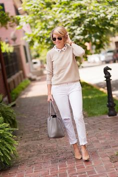 Looking for some Fall Fashion inspiration? Florida fashion blogger Seersucker + Saddles features a cute all gray outfit today. Click here now to see it!