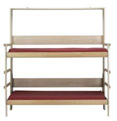 lit escamotable Castelo: idée pour recevoir des invités http://deavita.fr/decoracion/mobilier-meubles/lit-escamotable-optimiser-lespace-idees/