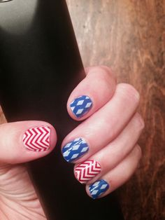 My version of Stars and Stripes for the 4th of July! Love!
