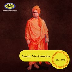 Born in 1863 in Calcutta, Swami Vivekananda is one of the best known patriot- saints of India. He introduced the Vedantas and Yoga to the western world. Swami Vivekananda founded the Ramakrishna Mission and the Ramakrishna Math. This great philosopher died in 1902. #PureSouls