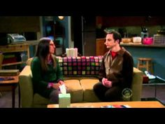 Amy and Sheldon cuddle! <3