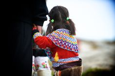 Mission North   A little girl from from Greenland dressed in the Greenlandic national costume   Get my 7 FREE basic photography tips - you need to know right here; http://pw5383.wixsite.com/free-photo-tips · Photographer Pernille Westh