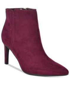 96436ca5555dc Circus By Sam Edelman Avalon Pointed-Toe Booties Shoes - Boots - Macy s