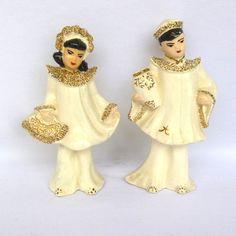 Mad Men Decor, Chinese Figurines, Orange Door, Facts For Kids, White Art, Vintage Decor, Hollywood, Asian, Ceramics