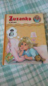 Detská kniha Zuzanka a jej pes