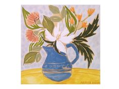 Floral Painting, Artworks for walls, Flowers Art,