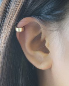 Gold Cuff Earring by Olive Yew. Lightweight and comfortable. Perfect to wear everyday.