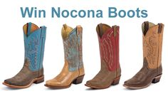 Win your choice of Nocona Boots in January. (up to $275 in value)We Love our Fans!