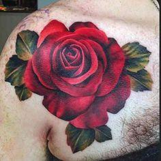 rose tattoos rose tattoo ideen rote rosen roses tattoo red rose tattoo ...